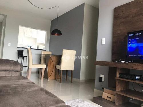 Imagem 1 de 12 de Apartamento Com 2 Dormitórios À Venda, 69 M² - Jardim Rossignatti - Indaiatuba/sp - Ap0969