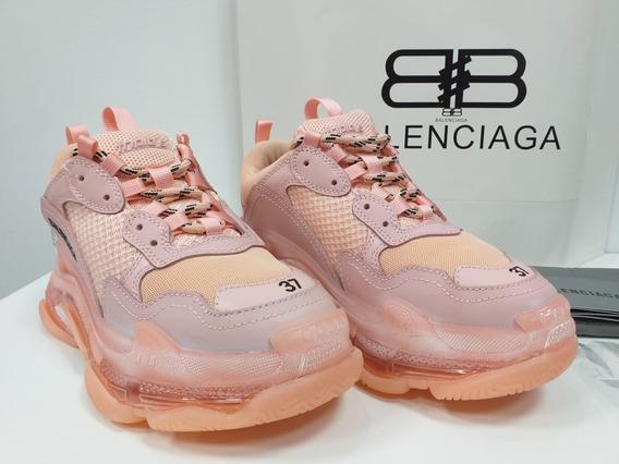 Zapatillas Tenis Balenciaga Triple S Mujer