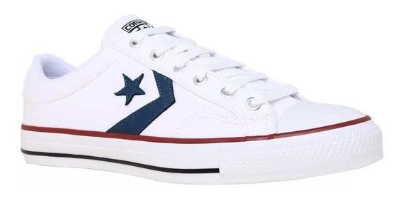 Zapatilla Converse Star Player Ox Blanco 157010c 138430b