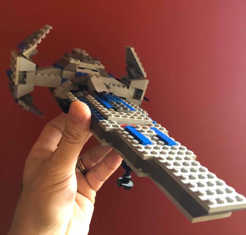 Lego Star Wars 7151 Vintage Sith  Infiltrator Darth Maul Vtg