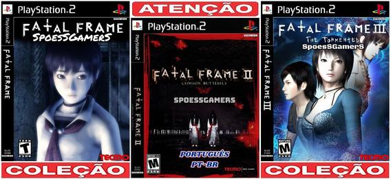 Fatal Frame Collection (3 Jogos) Ps2 Desbloqueado Patch