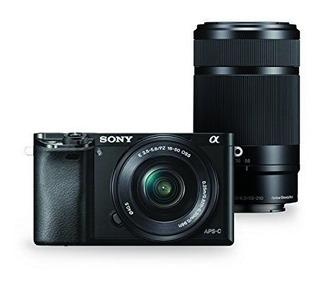 Cámara Digital Sony Alpha A6000 Hd + Acessorios Con Lentes
