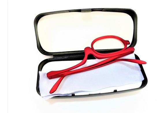 Óculos Para Maquiagem (armação Vm) + Estojo + Lenço Limpeza