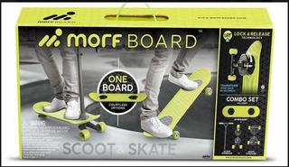Morf Board Scooter + Patineta Combo Skate Nuevo