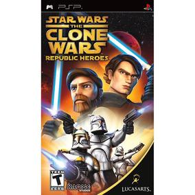Star Wars The Clone Wars Republic Heroes - Psp