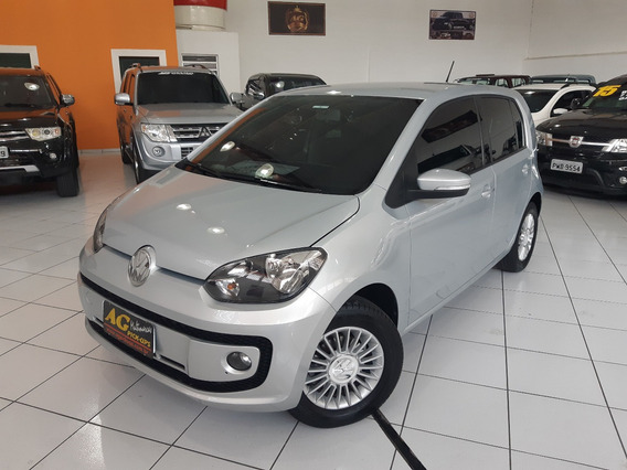 Vw Volkswagen Up Tsi 2017 Prata 1.0 Turbo Mec 4 Pts Completo