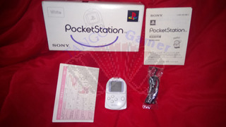 Sony Pocketstation Blanca + Juego Poketan Original Ntsc-j