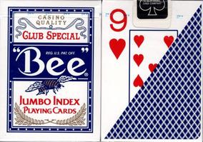 Baralho Bee Jumbo Index Poker