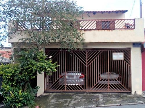 Imagem 1 de 13 de Sobrado À Venda - 4 Quartos - 2 Vagas - Assunção - São Bernardo Do Campo - Sp - 44872