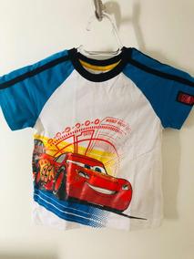 Camiseta Infantil Filme Carros Importada Original Disney