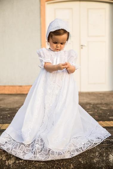Mandrião Batizado Clássico Com Muita Renda Renascença