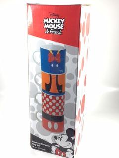 Juego De 4 Tazas De Disney Original Mickey Mouse Y Amigos
