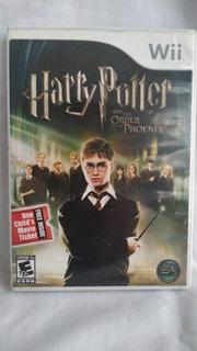 Harry Potter And The Order Of Phoenix - Excelente Estado-wii