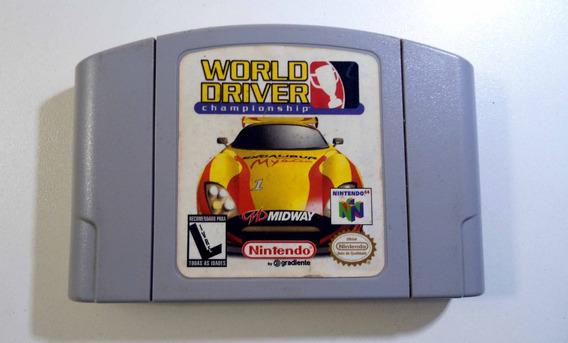 World Driver Championship Cartucho Nintendo 64 Frete Grátis