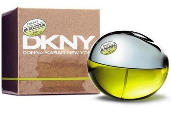 Perfume Feminino Dkny Be Delicious 100ml 100% Original