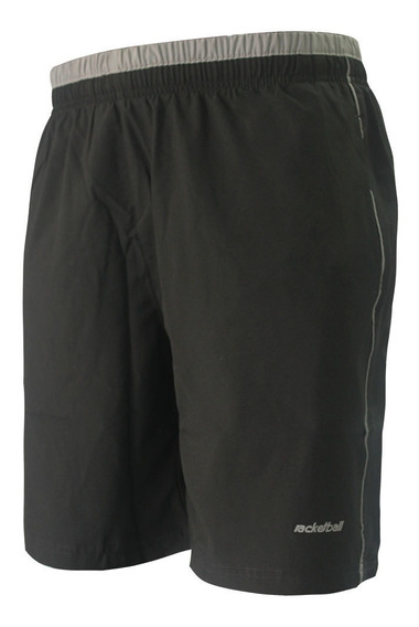 Pantaloneta Deportiva Color Negro Para Hombre
