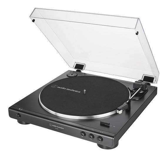 Toca-discos Audio-technica Automático At-lp60x-bk Preto