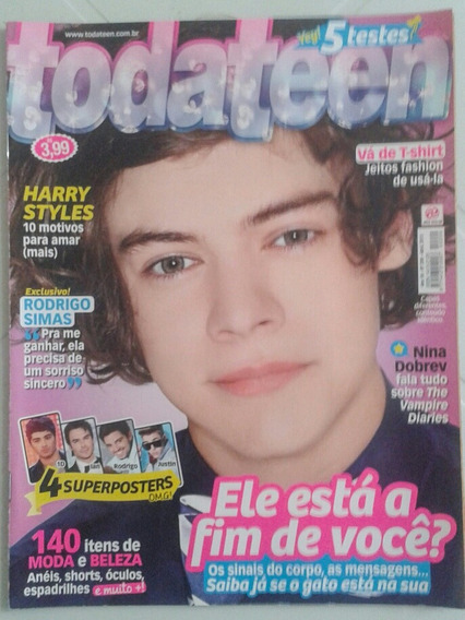 Revista Todateen 209 - Harry Styles Do Direction