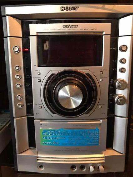 Equipo Sonido Sony Genezi Mhc-gnx80 5 Cornetas 160v Carrizal