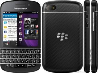 Blackberry Q10 Qwerty Touchscreen 16gb 8mp Libre De Fábrica