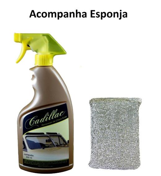 Removedor De Chuva Ácida De Vidros 650 Ml - Cadillac + Espon
