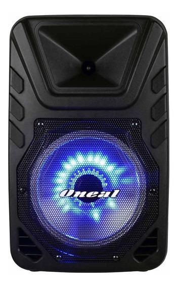 Caixa Portátil Omf 425 Bluetooth Bateria Interna Usb Fm Mic