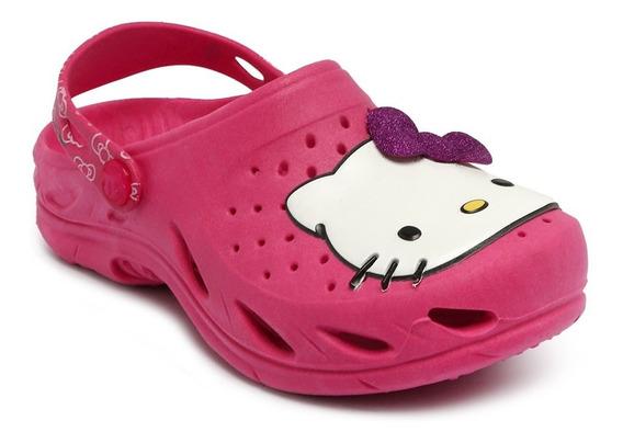 Babuche Plugt Mania Hello Kitty Pitaya 200.011200.011.155