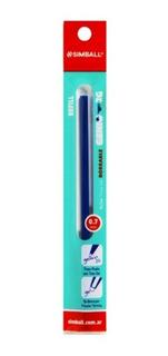 Simball Repuesto Roller Genio 2g Azul P/ Lapicera Borrable
