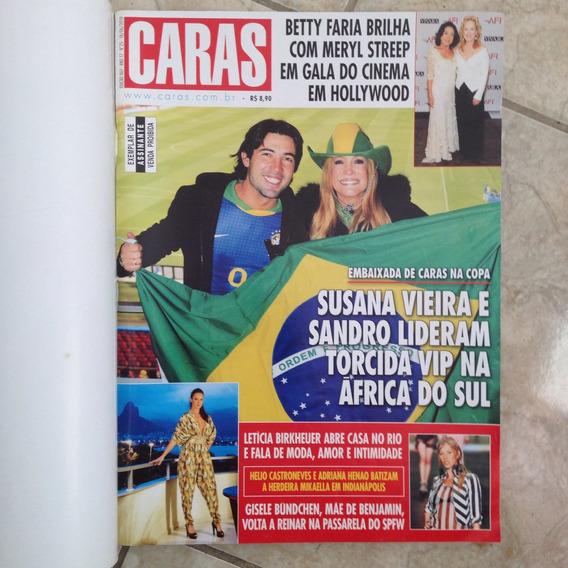 Revista Caras 867 18/06/2010 Susana Vieira Letícia Birkheuer