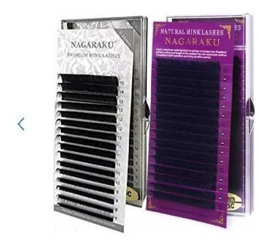 Extension De Pestañas Nagaraku Mix De Pestañas