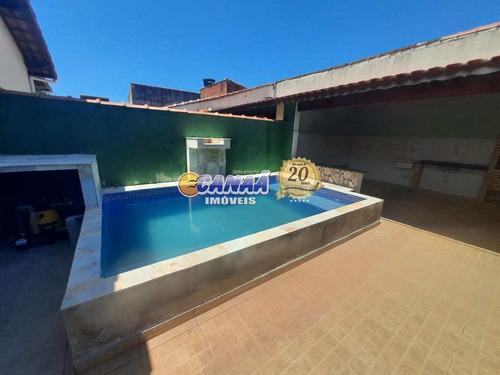 Casa Com Piscina Na Praia R$ 275 Mil . - V8194