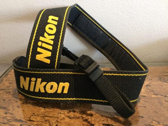 Alça Pescoço Nikon Original Neck Strap