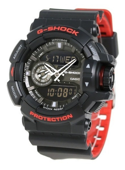 Relógio Casio G-shock Ga400hr1a Original Pta Entrega Na Lata