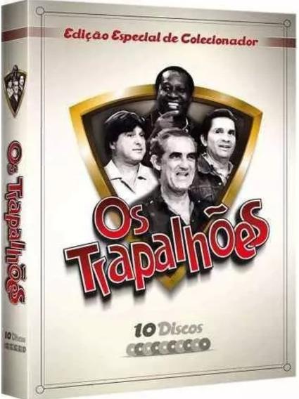 Box Original: Os Trapalhões - Volume 1 Em Digitask - 10 Dvds