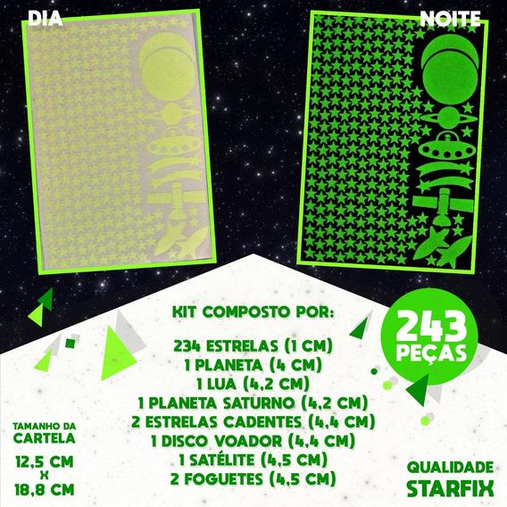 Kit Com 243 Estrelinhas Que Brilham No Escuro - Starfix