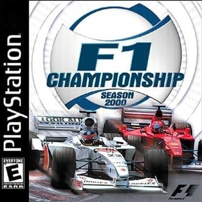 Playstation 1 Original Hidden F1 Championship Season 2000