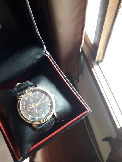 Relógio Technos Black/gold Novinho