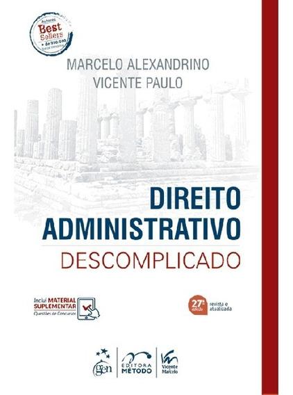 Direito Administrativo Descomplicado 27ed 2019