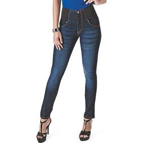 1a94fa2f5 Pantalon Euc Elastico Azul Cintura Alta ¡¡envio Gratis¡¡