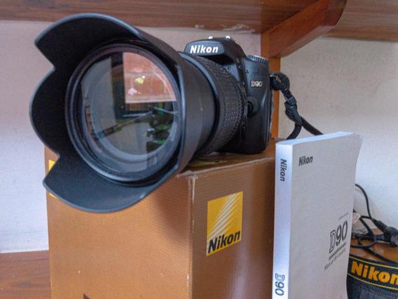 Nikon D90 + 18-105 3.5/5.6ed Vr Con 7000 Disparos