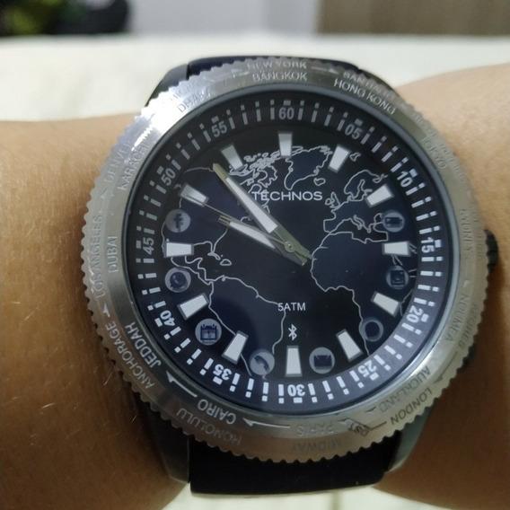Relógio Technos Conect 753ab/8a