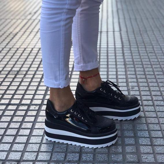 Zapatillas Zapas Con Plataforma Altas