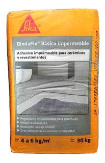Pegamento Para Ceramica Bindafix Impermeable Sika X 30 Kg