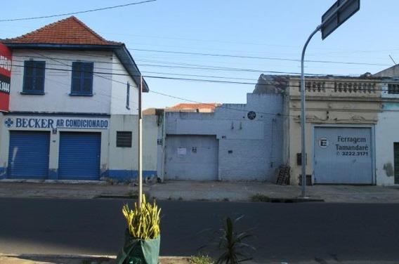 Galpão Comercial À Venda, Floresta, Porto Alegre. - Ga0007