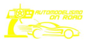 Adesivo Automodelismo On Road - 26 X 12 Cm - Várias Cores