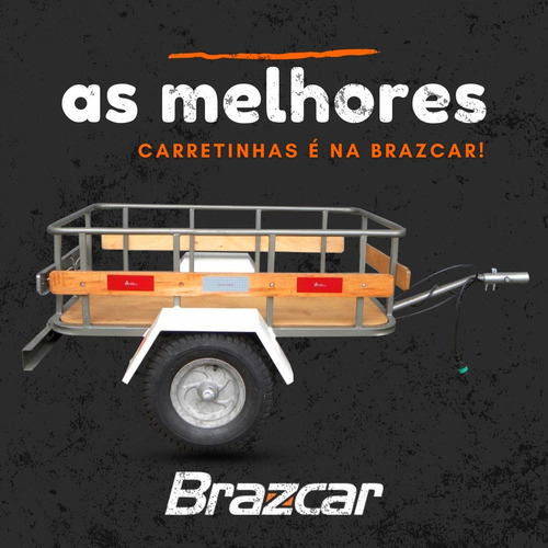Carretinha Reboque Para Moto.