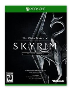 Skyrim Juego Xbox One Original Digital + Garantía
