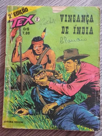 Gibi / Revista Tex Nº 2 - Vingança De Índia
