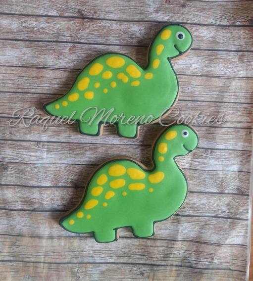 * Dinosaurios * 25 Galletas Decoradas Artesanales