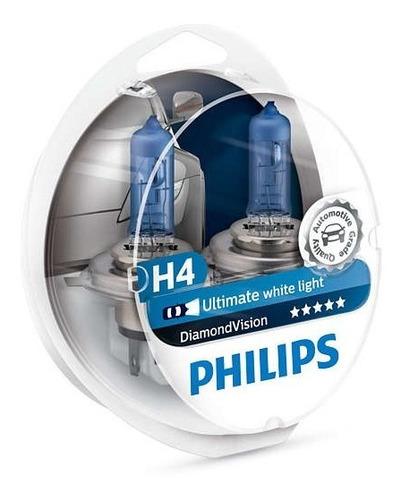 Imagen 1 de 1 de Lamparas Philips Diamond Vision H4 12v 60/55w Pack X2